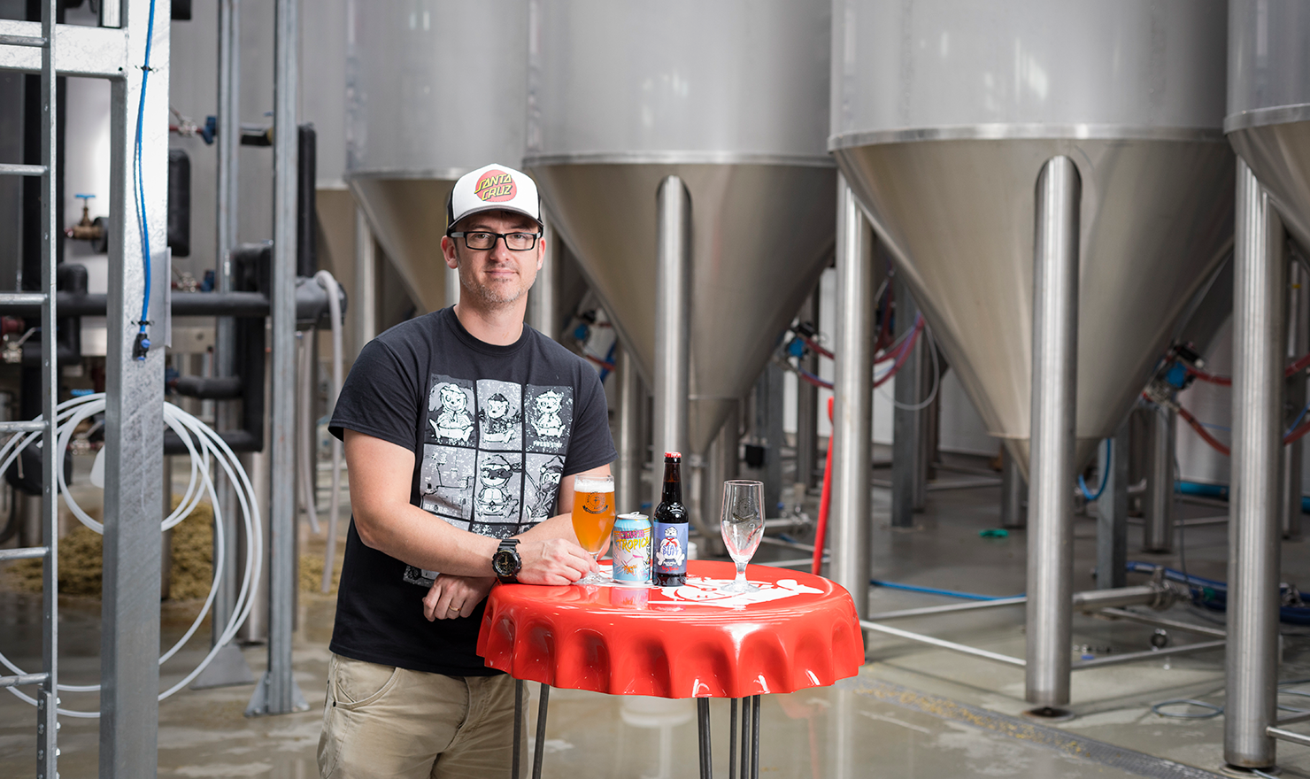 Tiny Rebel's Gazz Williams talking about Cali Pale Ale on PerfectDraft
