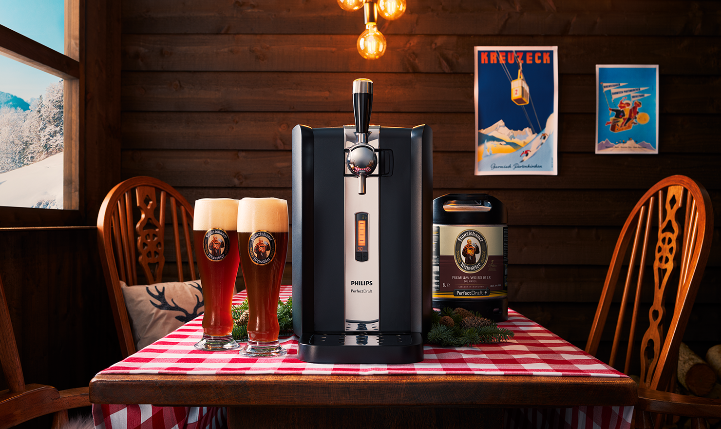 Taste of the Alps – Franziskaner Dunkel